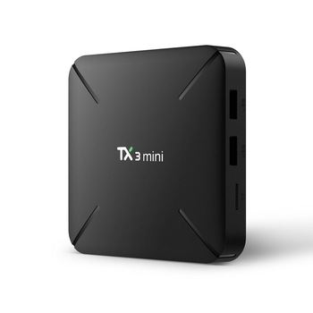 TX3 Mini L TV kutusu Android 7.1 Amlogic S905W Quad Core 4 K 2 GB 16 GB H.265 2.4G wiFi HDMI 100 Mbps akıllı medya oynatıcı Set-top Box